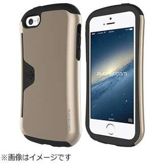 e2adda4fed iPhone SE / 5s / 5用 PhoneFoam Golf Original シャンパンゴールド PHFGLOISE-CG