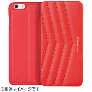 iPhone 6s Plus/6 Plus用 手帳型 Colcha Collection Colcha Ardor Scarlet VIVA MADRID IP6SPFC-CHARED