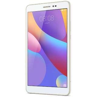 【LTE対応 microSIMx1】 Android 6.0タブレット[8型・Snapdragon・ストレージ 16GB・メモリ 2GB] MEDIAPAD T2 8.0 ホワイトT2 8.0/JDN-L01 (2016年12月モデル) JDN-W09 ホワイト [8型 /ストレージ:16GB /SIMフリーモデル]