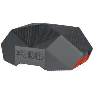 OT2800-GR ブルートゥース スピーカー TURTLE SHELL 3.0 グレー/オレンジ [Bluetooth対応 /防水]