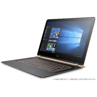 Y4G20PA-AAAD ノートパソコン Spectre 13-v107TU ダークグレー/ブロンズゴールド [13.3型 /intel Core i5 /SSD:256GB /メモリ:8GB /2016年12月モデル]