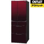 【アウトレット品】 SJ-GF50B-R 冷蔵庫 プラズマクラスター冷蔵庫 グラデーションレッド [6ドア /観音開きタイプ /485L] 【生産完了品】