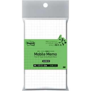 3M ポスト・イット 強粘着モバイルメモ Mサイズ(方眼) 詰替え用 SSM-MR02