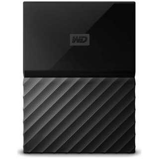 WDBFKF0010BBKWESN 外付けHDD ブラック [ポータブル型 /1TB]