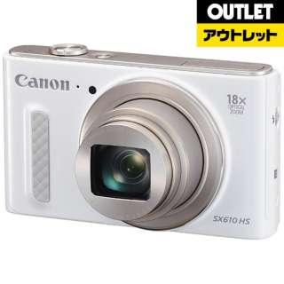【アウトレット品】 SX610HS コンパクトデジタルカメラ PowerShot(パワーショット) ホワイト 【展示品】