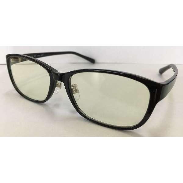 ブルーライトカット BIC PCプラス(ブラック/UV420)008P/4BK
