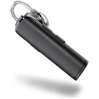 スマートフォン対応[Bluetooth4.1] 片耳ヘッドセット USB充電ケーブル付 (ブラック) Explorer 100