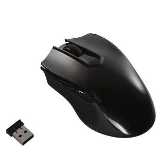 MUS-RKF127GBK マウス Digio2 グロスブラック [BlueLED /5ボタン /USB /無線(ワイヤレス)]