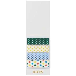 [マスキングテープ]KITTA(キッタ)ドット