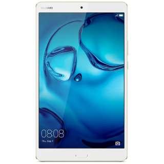 【LTE対応】MediaPad M3ゴールド 8.4型・Kirin950・ストレージ 64GB・メモリ 4GB nano SIMx12016年12月モデル Android 6.0 SIMフリータブレット BTV-DL09 ゴールド [8.4型 /ストレージ:64GB /SIMフリーモデル]