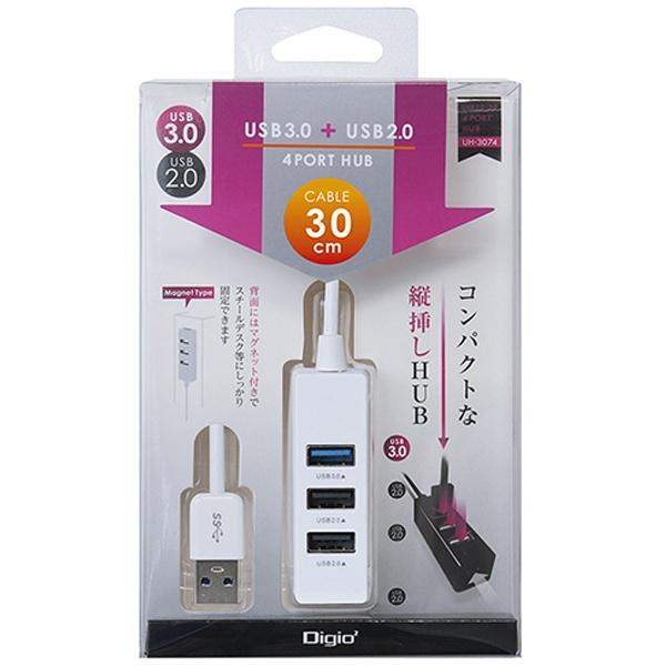 ナカバヤシ UH-3064 UH-3064W USB HUB