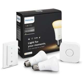 PY47915L LED電球 Hue(ヒュー) ホワイトグラデーション スターターセット [E26 /2個]