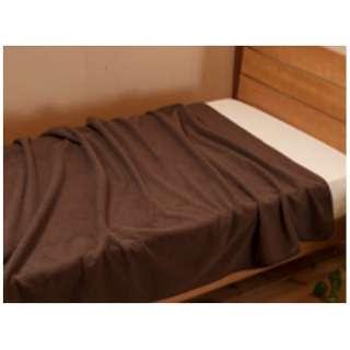 毛布 エバーウォーム(ダブルサイズ/180×200cm/ブラウン)【日本製】