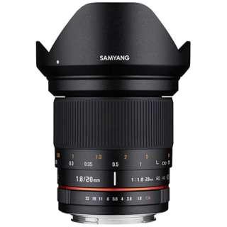 カメラレンズ 20mm F1.8 ED AS UMC ブラック [キヤノンEF /単焦点レンズ]