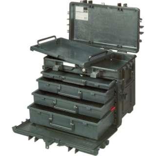 バーコ 4段式リジットキャスターケース 4750RCWD4