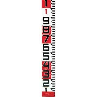 タジマ シムロンロッド-150長さ 10m/裏面仕様 1mアカシロ/紙函 SYR-10TK