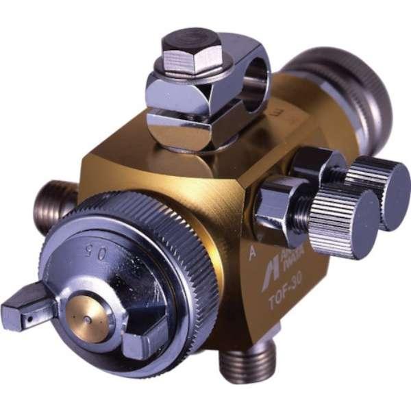 アネスト岩田 液体塗布用自動スプレーガン(大形) ノズル口径1.5mm TOF-30-15