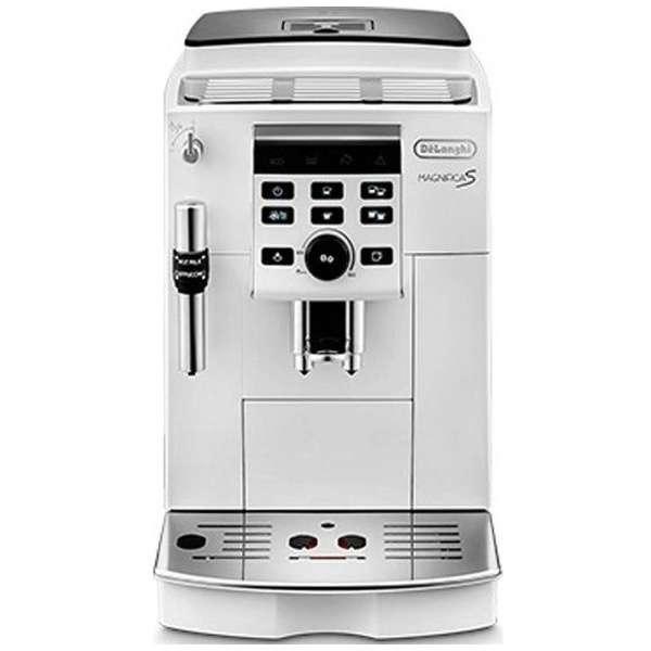 全自動コーヒーマシン MAGNIFICA S(マグニフィカS) ホワイト ECAM23120WN [全自動 /ミル付き]