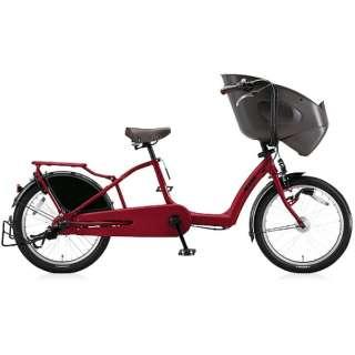 20型 自転車 bikke POLAR b(T.レトロレッド/3段変速) BP03T【2017年モデル】 【組立商品につき返品不可】