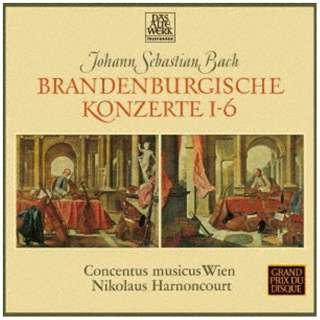 ニコラウス・アーノンクール(cond)/J.S.バッハ:ブランデンブルク協奏曲 全曲(1964年録音) 【CD】