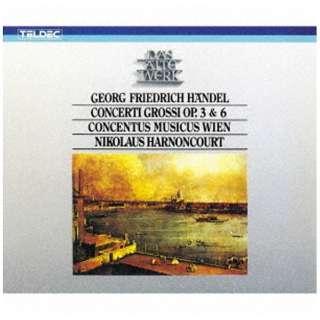 ニコラウス・アーノンクール(cond)/ヘンデル:合奏協奏曲 作品3&6(全曲) 【CD】