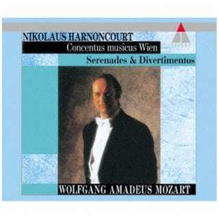 ニコラウス・アーノンクール(cond)/モーツァルト:セレナード、ディヴェルティメント、ファゴット協奏曲、他 【CD】