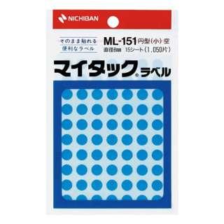 カラーラベル マイタック 空 ML-15116 [15シート /70面]