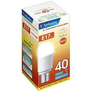 LDA4L-E17-G/V1B LED電球 小形電球形 バーベイタム(Verbatim) [E17 /電球色 /1個 /40W相当 /一般電球形 /広配光タイプ]