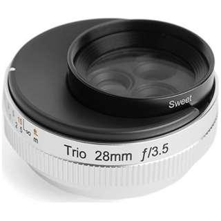カメラレンズ Trio 28(トリオ28) [マイクロフォーサーズ /単焦点レンズ]