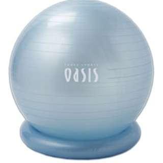 フィットネスクラブがつくった バランスボール(65cm/アイスブルー) FB-500