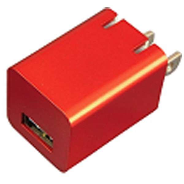 ゲーム機器用 プレミアムシリーズAC充電器USBポート1A RD【New3DS LL/New3DS/PSV(PCH-1000/2000)/クラシックミニファミリーコンピュータ】