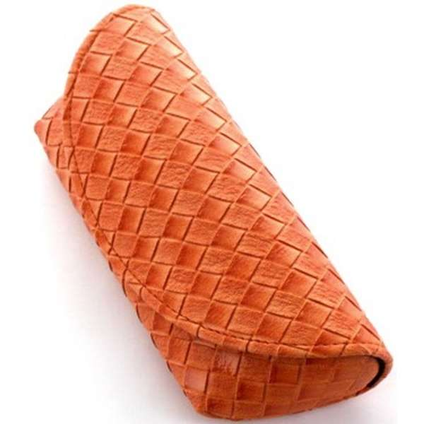 セミハード メガネケース(オレンジ)2140-04