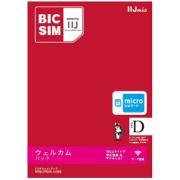 マイクロSIM 「BIC SIM」 データ通信専用・SMS非対応 IM-B170