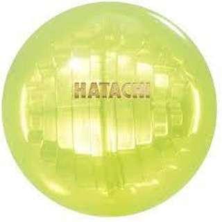 グラウンドゴルフ用 ボール クリスタルポールラン(φ6cm/イエロー) BH3801《(公社)日本グラウンド・ゴルフ協会認定品》