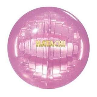 グラウンドゴルフ用 ボール クリスタルポールラン(φ6cm/ピンク) BH3801《(公社)日本グラウンド・ゴルフ協会認定品》