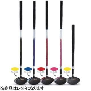 グラウンドゴルフ用 クラブ デュアル フェイス クラブ プロ(84cm/レッド)