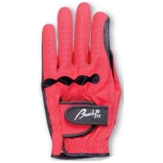 グラウンドゴルフ用 グローブ 羊皮手袋(SMサイズ/レッド)PH8041