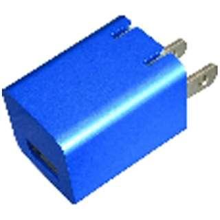 ゲーム機器用 プレミアムシリーズAC充電器USBポート1A BL【New3DS LL/New3DS/PSV(PCH-1000/2000)/クラシックミニファミリーコンピュータ】