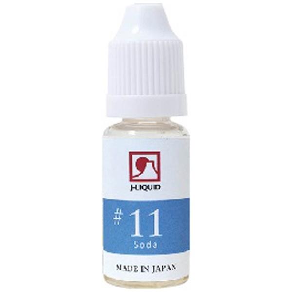 Japan j-LIQUID 電子タバコ用リキッド ソーダ #11 SW-12941 1コ入