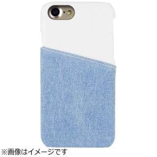 iPhone 7用 EDWIN アジャストデニムケース HALF DENIM・ホワイト 2016IP-72267