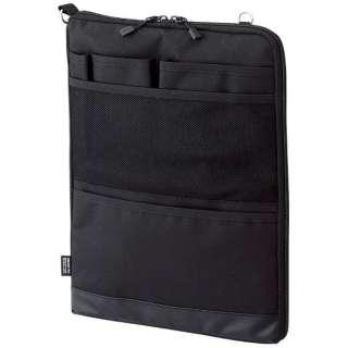 タブレットPC対応[~12インチ] バッグインバッグ タテ型 A4サイズ SMART FIT ACTACT A-7683-24 ブラック