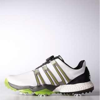 b3ac820e6066f Men s Golf Shoes powerband Boa boost (26.5cm  white X iron metallic X solar  slime) Q44848