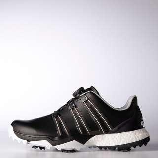 1276e14fcb11d Men s Golf Shoes powerband Boa boost (28.0cm  horsefly rack X core black X  white) Q44769
