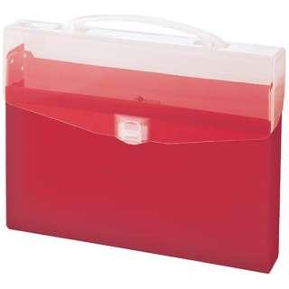 コングレスバッグ A4サイズ AQUA DROPs A-5007-3 赤