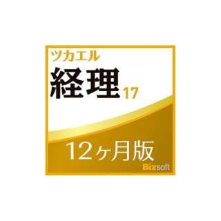 ツカエル経理 17 12ヶ月版 【ダウンロード版】