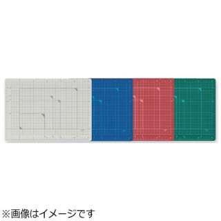 [カッティングマット] カッティングマット カラータイプ 両面使用 A4 グリーン CS-A4