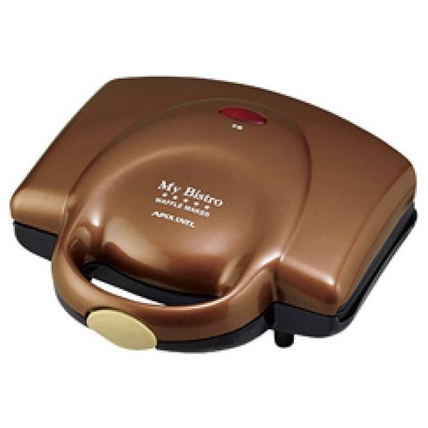 アピックスインターナショナル ワッフルメーカー ASW-284-BR 調理器具