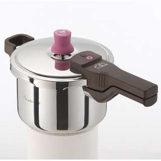 ≪IH対応≫ 圧力鍋ガラス蓋付 「あなたと私の圧力魔法鍋」(3.0L) 640512