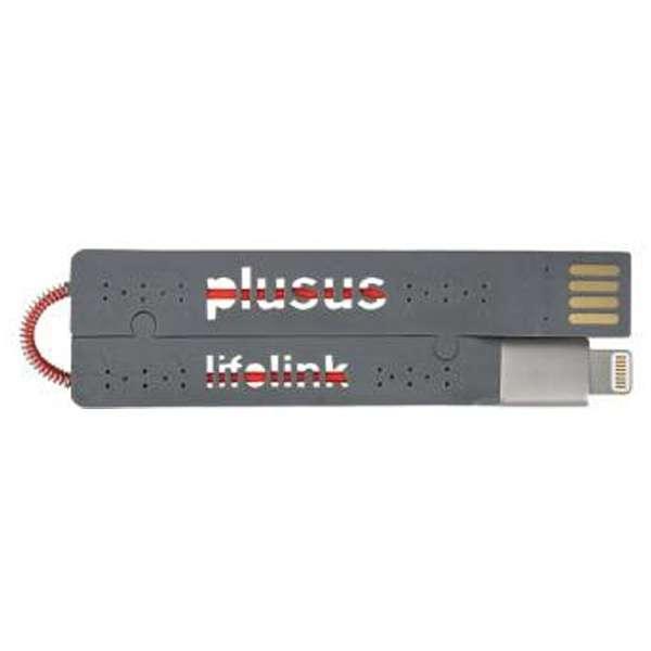 [ライトニング] ケーブル 充電・転送 (カードサイズ・グレー)MFi認証 LIFELINK ライトニング
