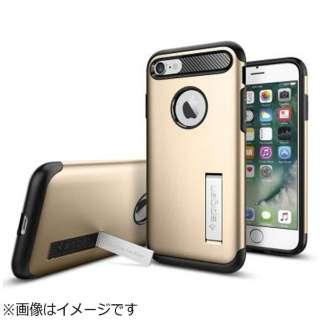 iPhone 7用 Slim Armor シャンパンゴールド 042CS20302